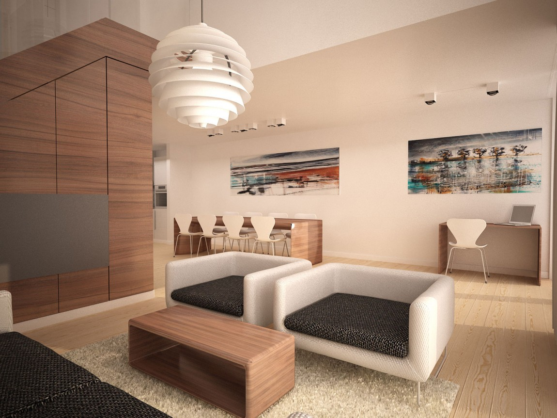 Idee deco interieur contemporain maison parallele - Idee interieur maison ...