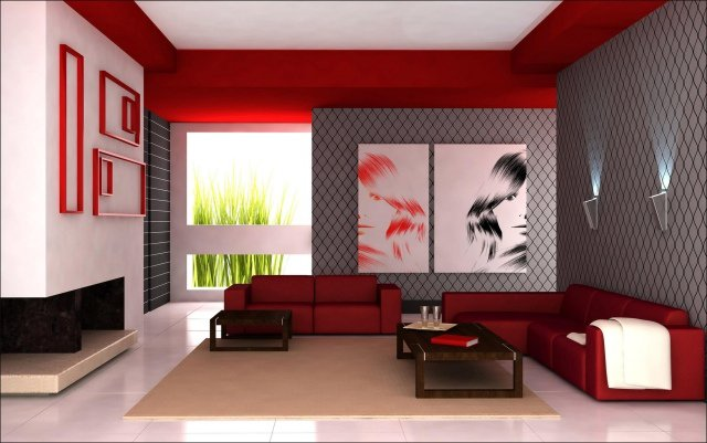 Idee Deco Salon. Beautiful Crer Un Mur De Cadres Dans Un Petit ...