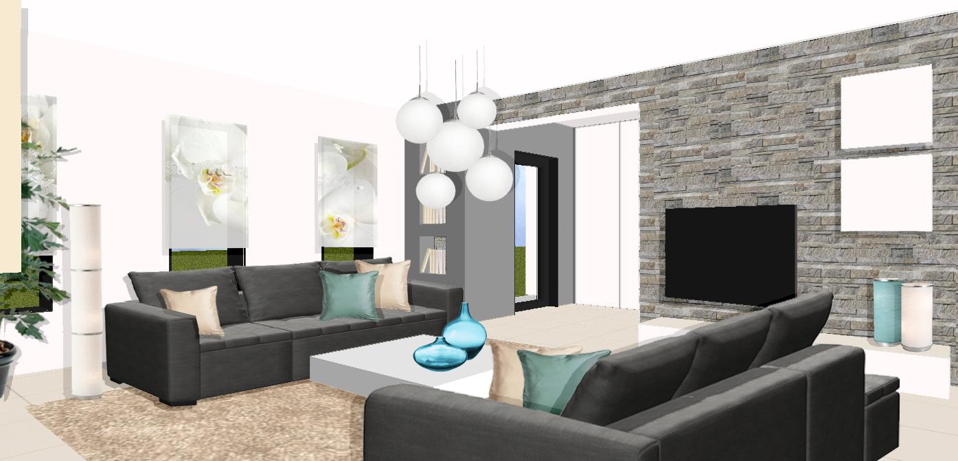 Design interieur villa moderne - maison parallele