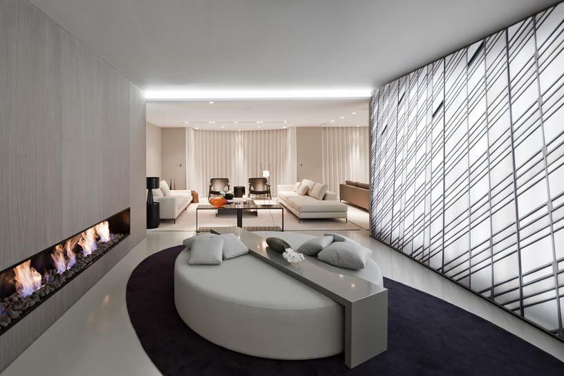 Exemple decoration interieur - maison parallele