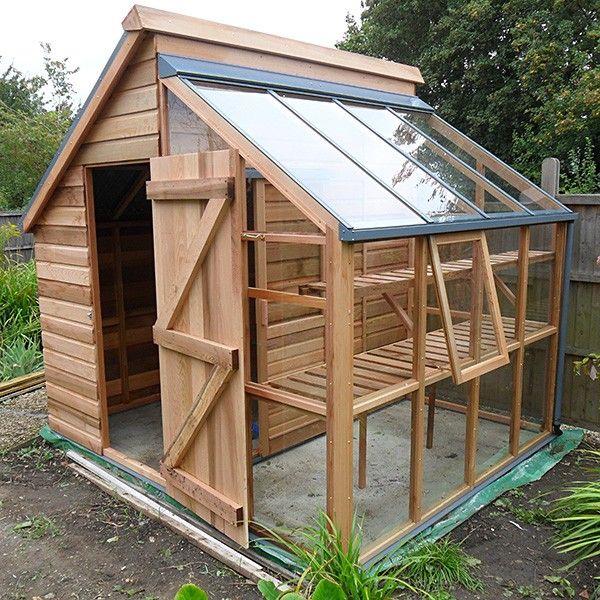 Faire Une Cabane De Jardin #7: Fabriquer Une Cabane De Jardin