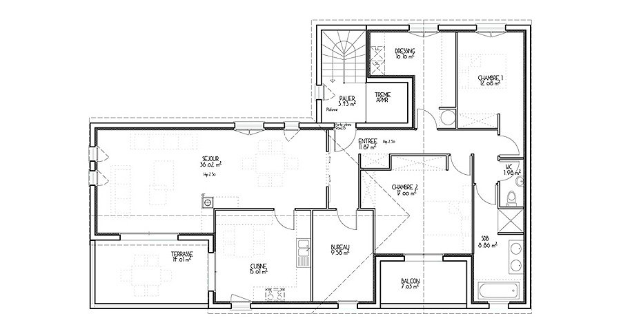 Exemple Plan Maison Moderne. Perfect Explore D Drawings And More