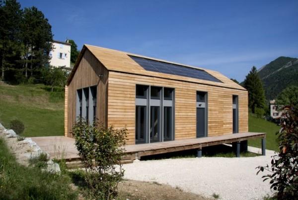 Superbe Construction Maison Bois Kit