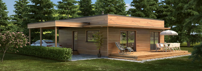Prix Maisons Bois. Great Booa Maisons Ossature Bois Design Prix ...