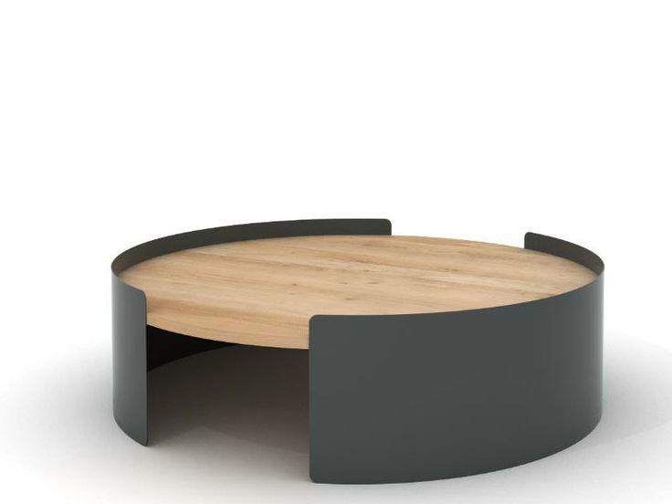 Table basse ronde ou ovale