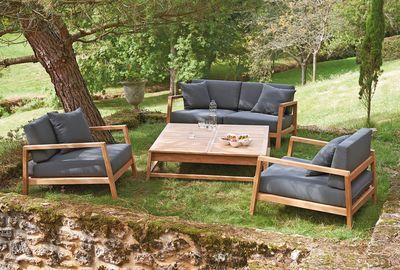 Beautiful Salon De Jardin En Teck La Redoute Contemporary - Awesome ...