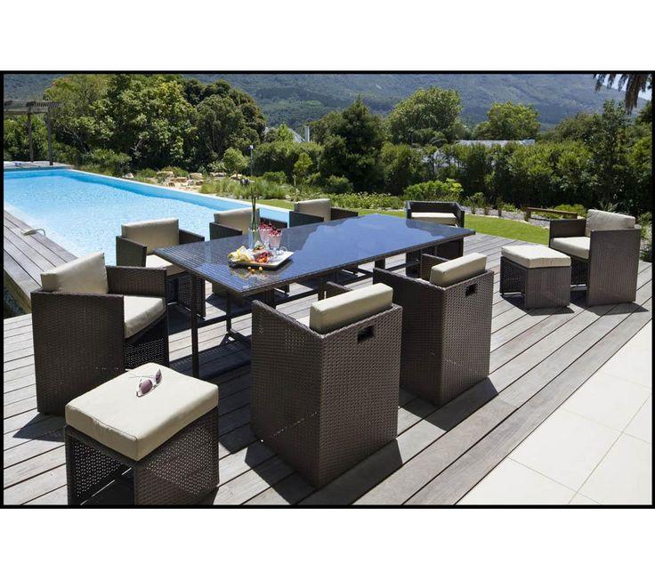 Emejing Salon De Jardin Resine Tressee Weldom Photos - Payn.us - payn.us