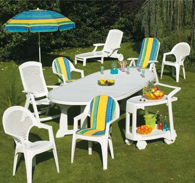 Table De Jardin Plastique Blanc. Superbe Ides Chaise En Plastique ...
