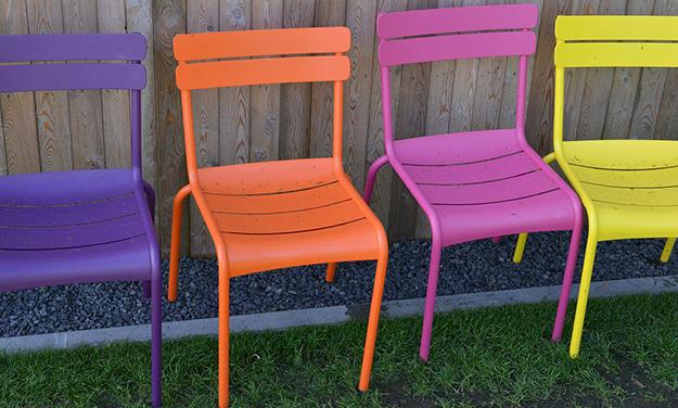 Awesome Salon De Jardin Metal Colore Ideas - Amazing House Design ...