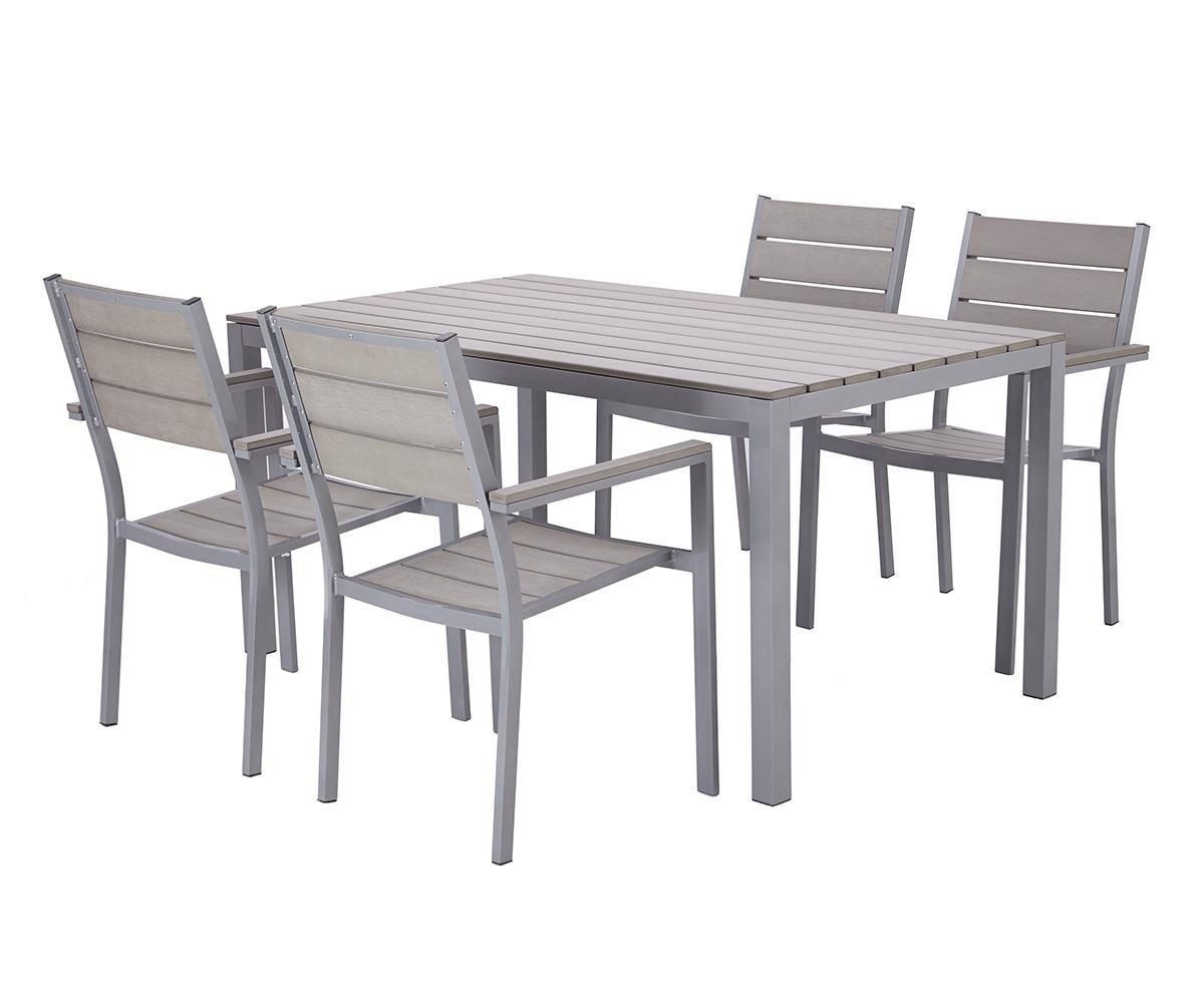 Table jardin 4 personnes table ronde salon de jardin | Objets ...