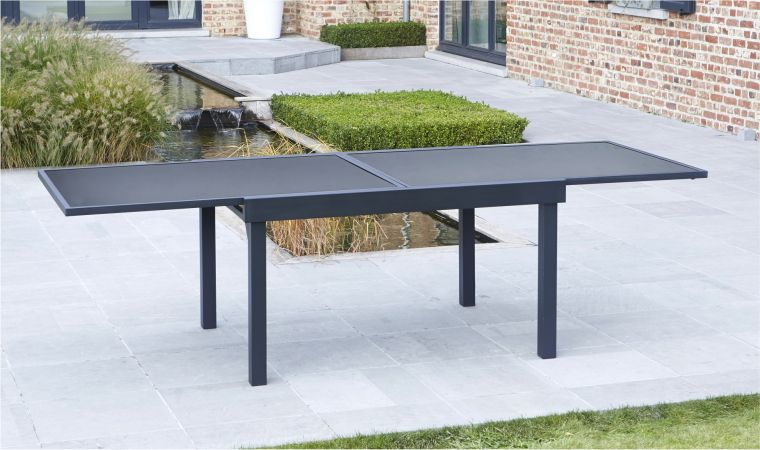 Table de jardin avec rallonge salon jardin | Amoretti decoration