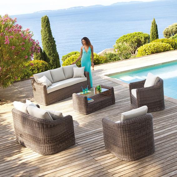 Beautiful Salon De Jardin Capri Taupe Ideas - Amazing House Design ...