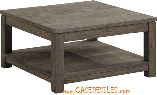 Table basse carré pas cher