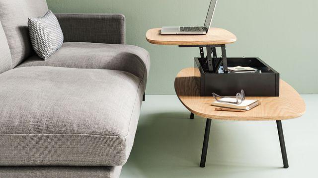 Petites Tables Basses De Salon Table Ronde Blanche Avec Rallonge