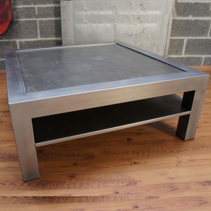 Table salon metal