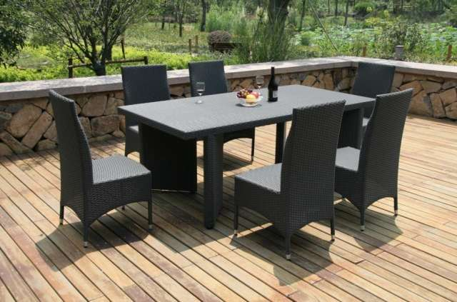 table jardin chaises avec les meilleures collections d 39 images. Black Bedroom Furniture Sets. Home Design Ideas