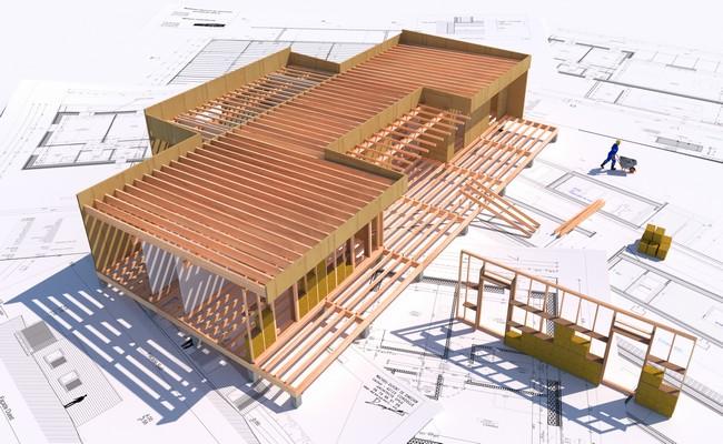 Cout construction ossature bois