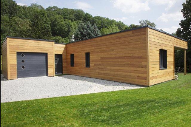 Sophisticated Maison Bois Plain Pied Tarif Ideas - Best Image Engine ...