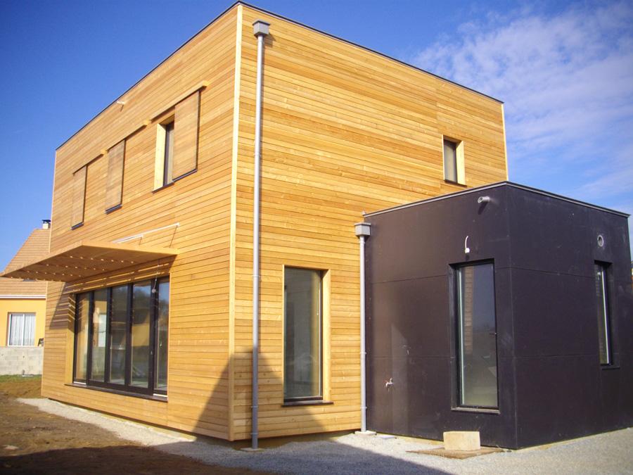 maison cubique passive
