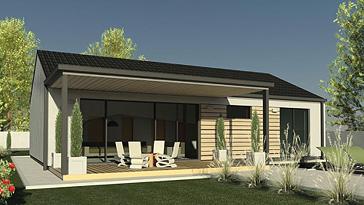 prix des maisons en bois cle en main maison parallele. Black Bedroom Furniture Sets. Home Design Ideas
