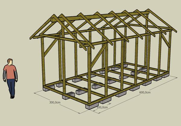 Construire maisonnette bois maison parallele - Plan pour maisonnette en bois ...