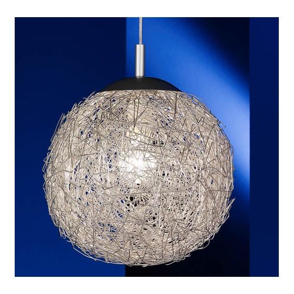 Lustre design archives maison parallele for Lustre boule noir