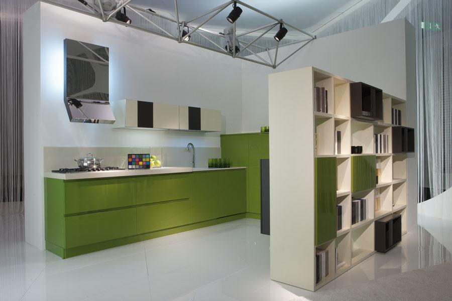 Modele de separation entre cuisine et salon maison parallele - Separation cuisine ouverte ...