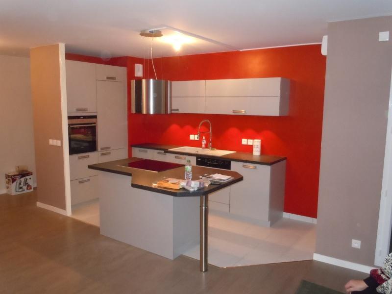Aménagement petite cuisine ouverte sur séjour | Delphine ertzscheid