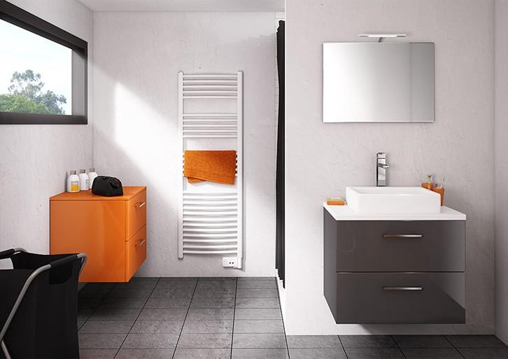 Meuble vasque salle de bain moderne