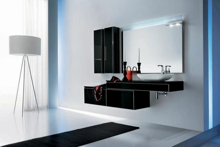 Mobilier salle de bain moderne