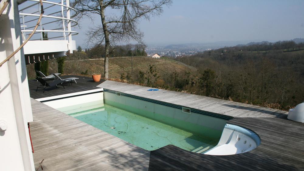 Transformer bassin en piscine