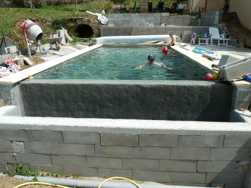 Autoconstruction piscine maison parallele - Autoconstruction piscine naturelle ...