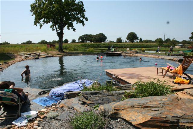 Bassin de baignade naturelle autoconstruction maison - Autoconstruction piscine naturelle ...