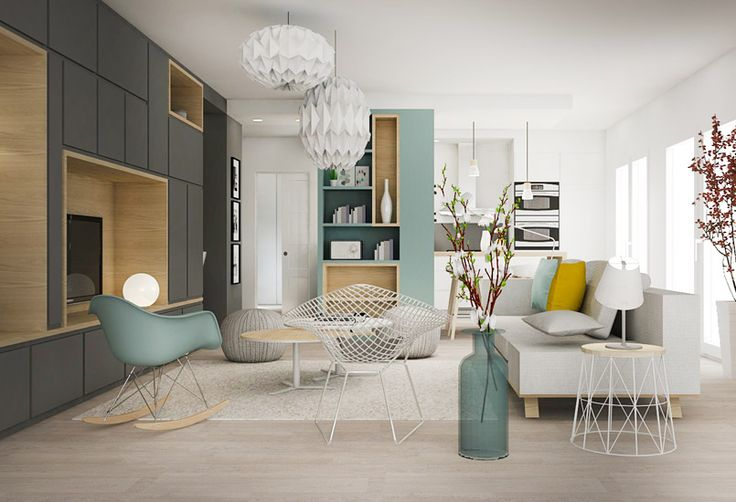 Idee deco interieur salon