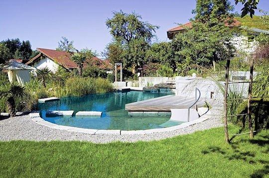 Piscine naturel prix maison parallele - Autoconstruction piscine naturelle ...