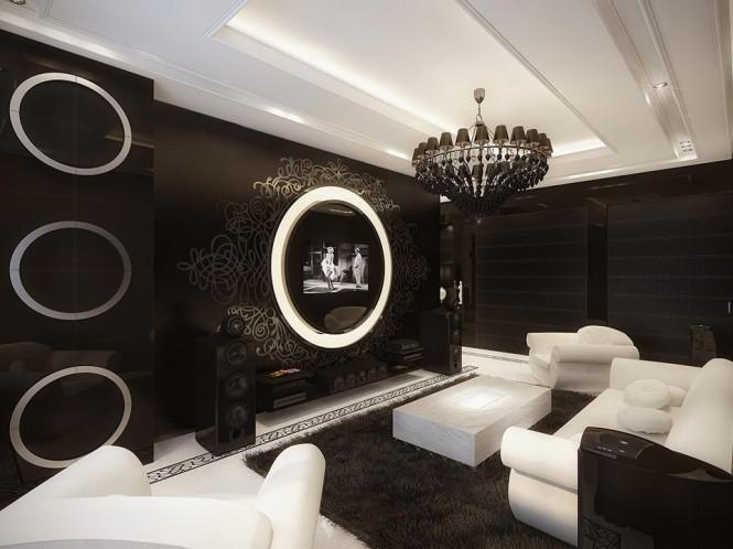 Deco maison design noir et blanc