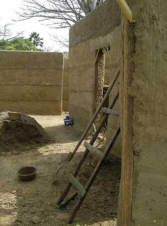 Techniques de construction en terre crue