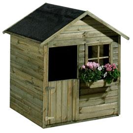 Petites cabanes en bois