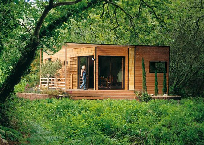 Construction petite maison en bois