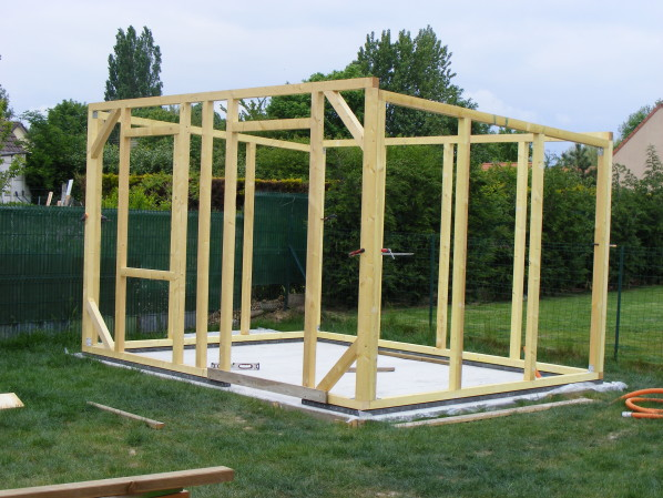 Construire sa cabane de jardin en bois