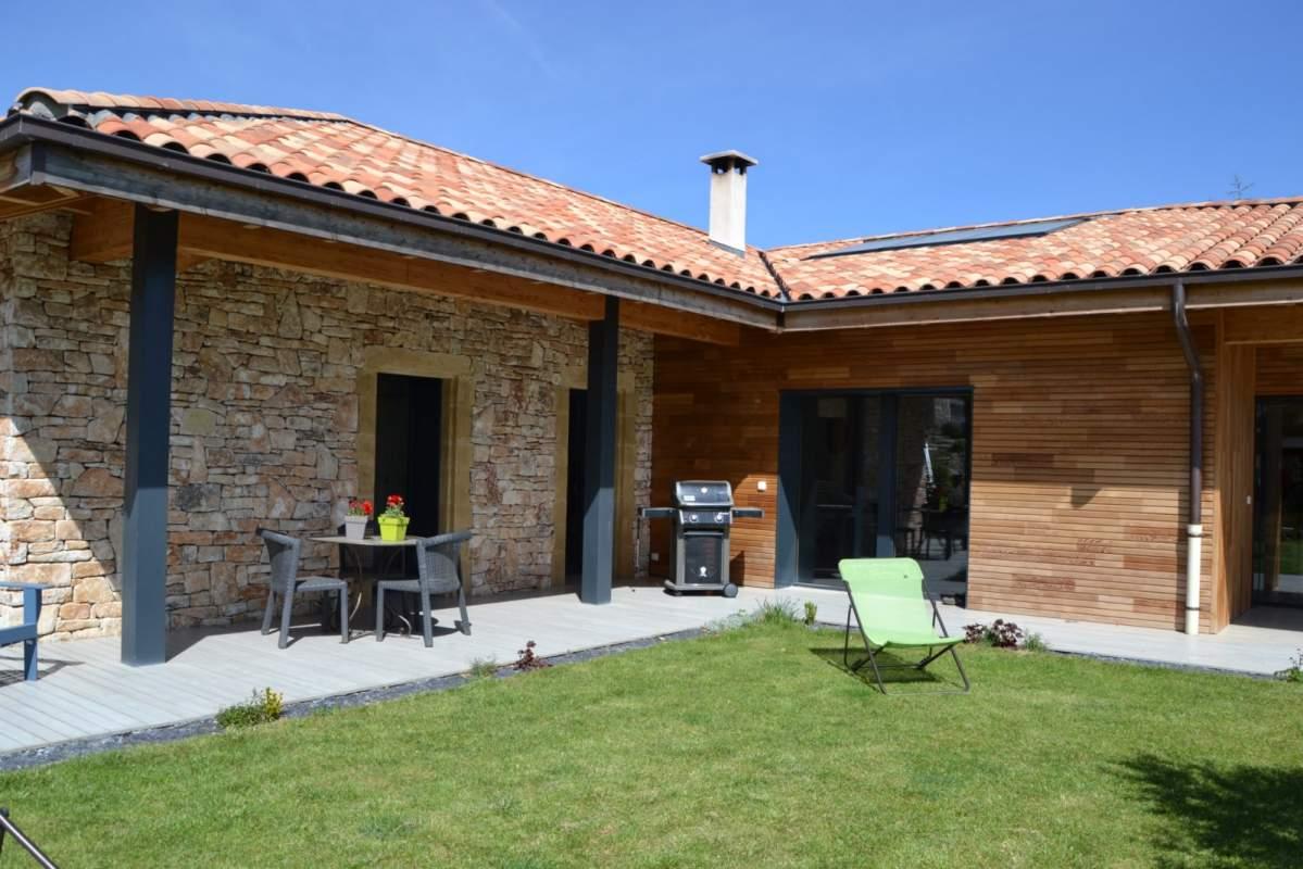 Ossature bois maison