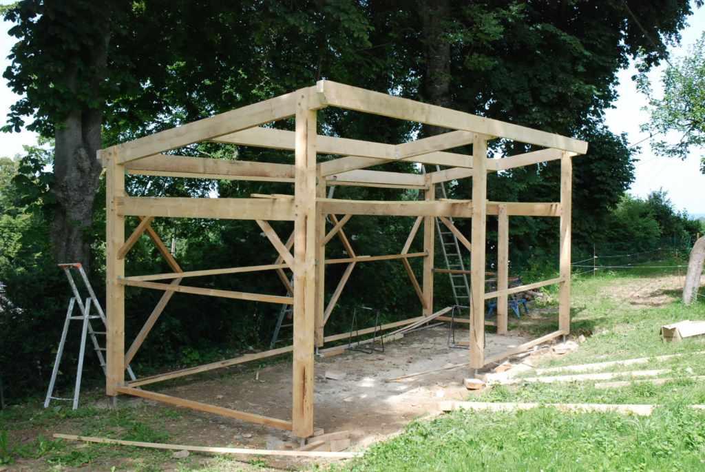 Construire cabanon en bois - maison parallele