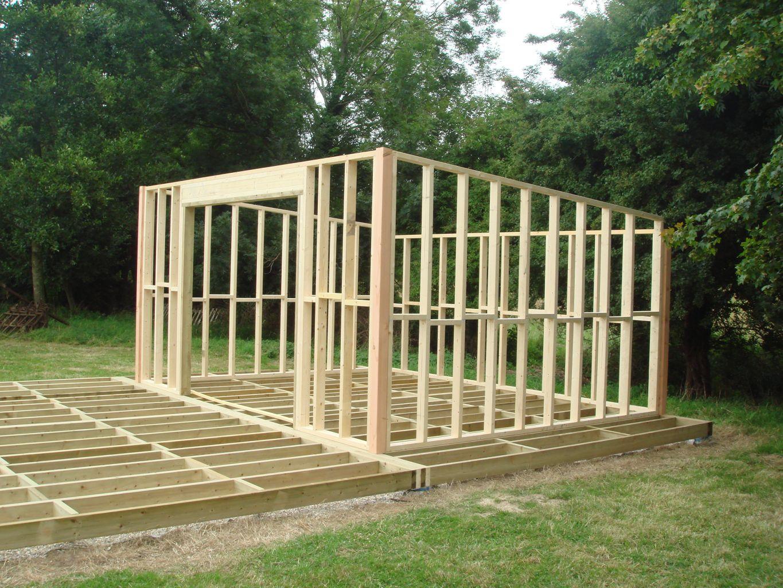 Construire Un Chalet De Jardin