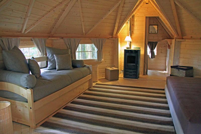 Cabane en bois pour adulte