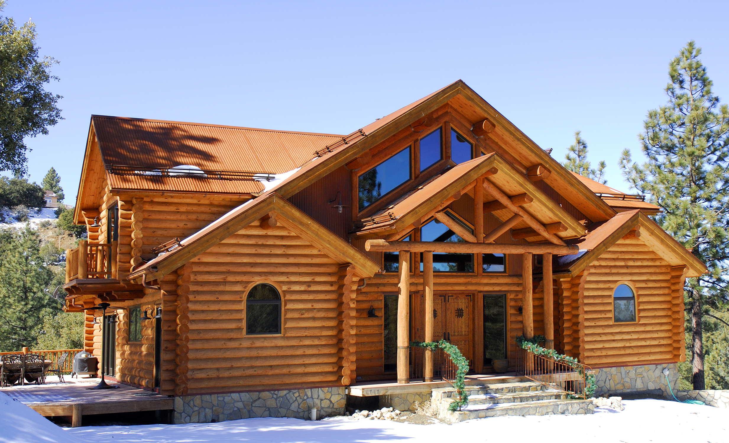 Prix maison en bois massif