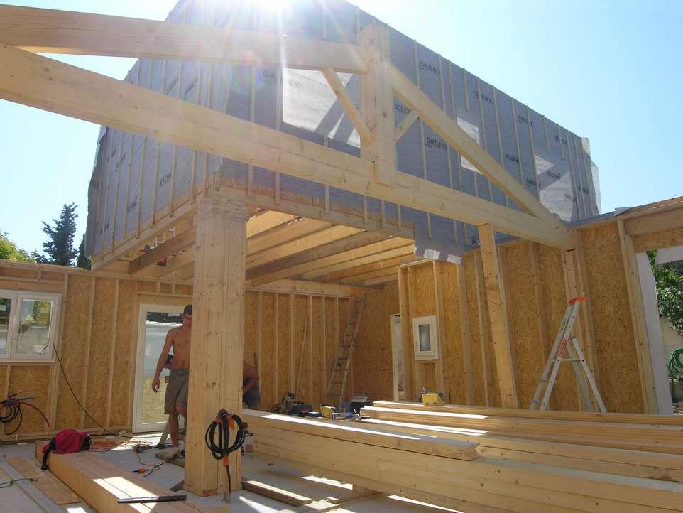 Modele de maison en bois avec prix - maison parallele