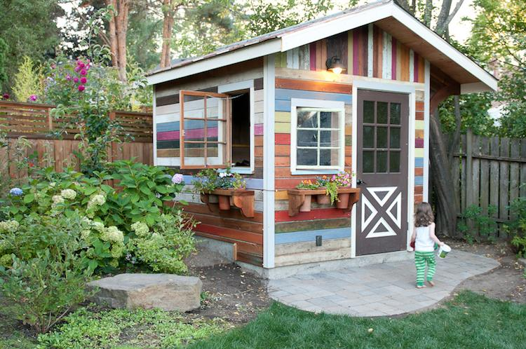 Construire un cabanon de jardin en bois
