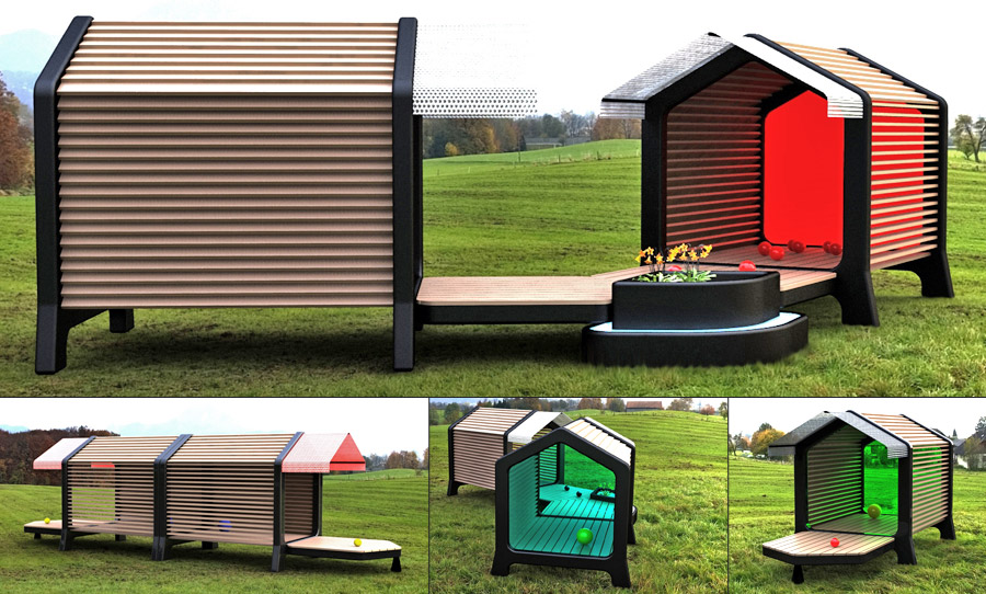 Cabane enfant design