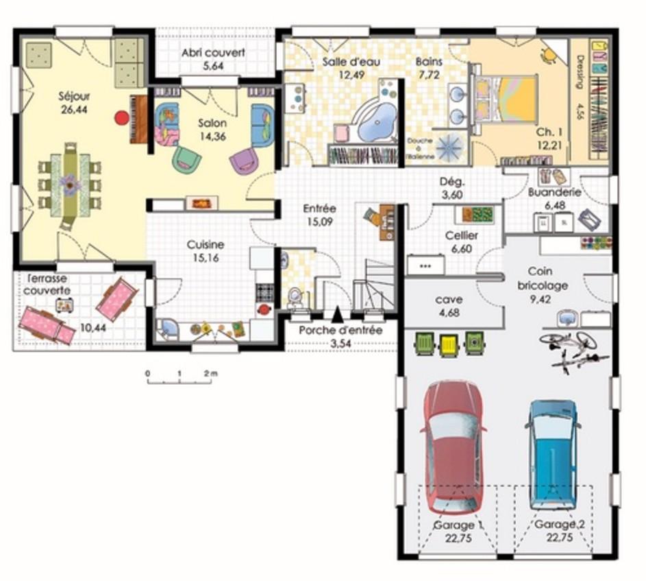 Idee plan maison