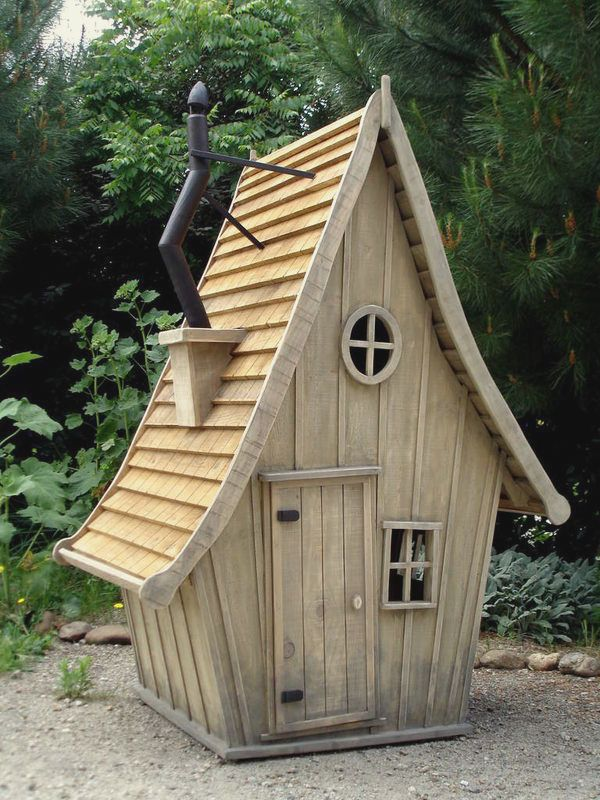 Construire un cabane en bois